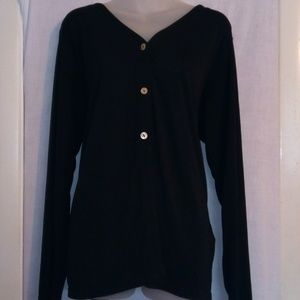 Jaclyn Smith Classic Shell Button Cardigan
